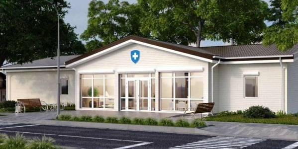 Shyshatska AH started construction of modern outpatient clinic
