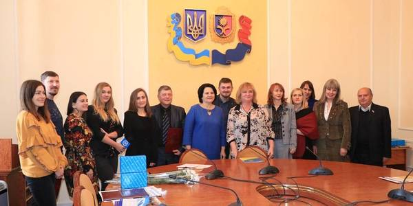 Journalists awarded for their works on decentralisation topic in Khmelnytskyi Oblast