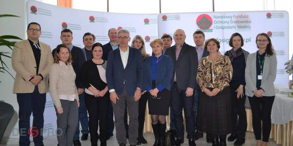 DESPRO partner group is on a study visit to Poland