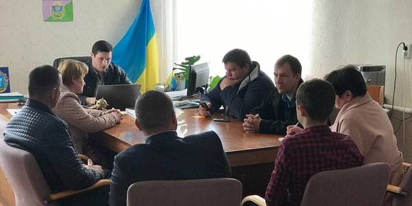 Buzivska AH activists are implementing several hromada projects at once