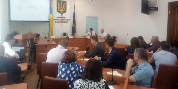 Draft of administrative and territorial structure of hromadas and rayons discussed in Cherkasy Oblast