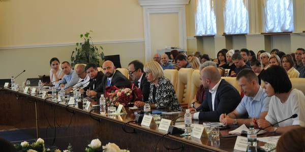 Aliona Babak outlined the key priorities of the Ministry of Hromadas and Territories' Development
