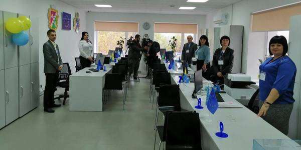 First in Dnipropetrovsk Oblast joint hromada-rayon ASC opened in Solonyanska AH