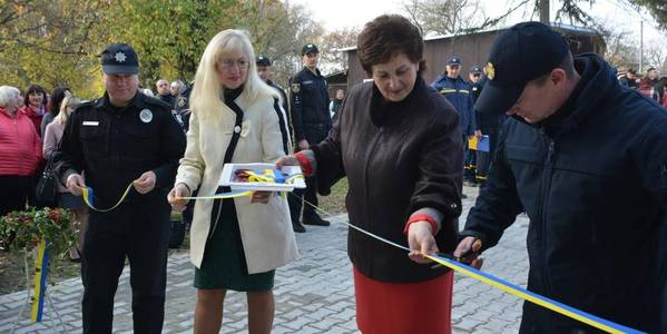 First in Chernivtsi Oblast citizens' safety centre opened in Mamayivska AH
