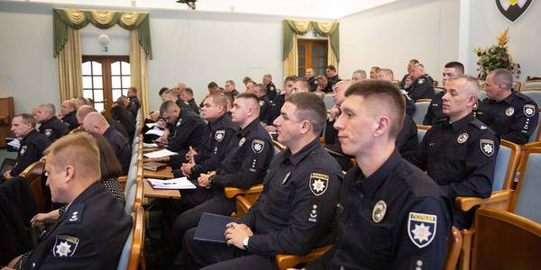 Training of police officers to work in hromadas as one of prevention police's priorities