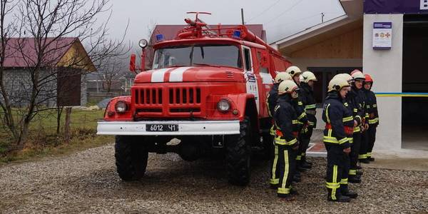 Voluntary fire brigade launched in Kosmatska AH