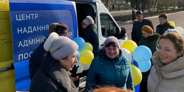 Mobile ASC launched in Gulyaypilska urban AH