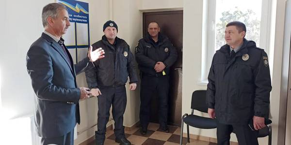 A Police Station has been Opened in the Pluzhnenska AH