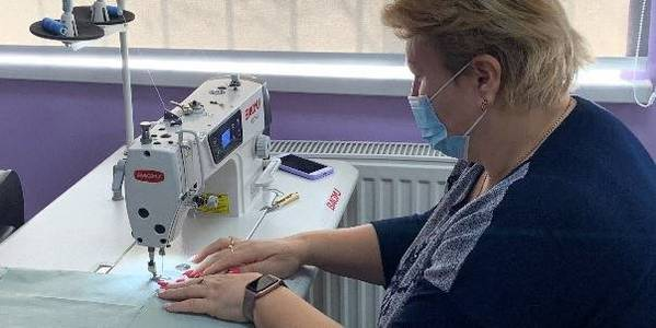 The Halytsynivska AH is developing a sewing business
