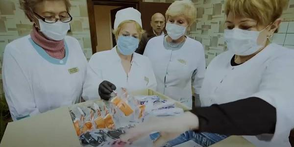 U-LEAD with Europe with EU support delivered protective kits to hromadas
