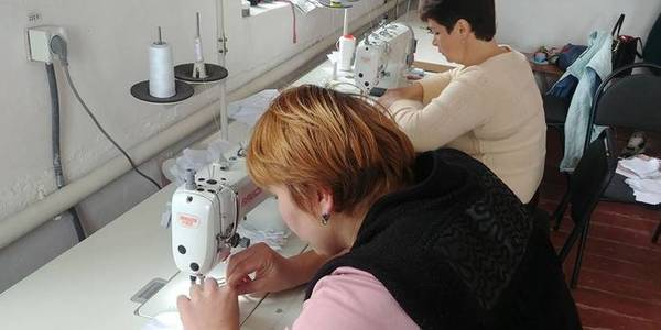 With the EU support, Baranivska hromada created a sewing coworking, which produces protective facemasks under the U-LEAD with Europe initiative
