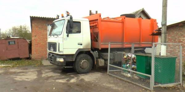 Story on how amalgamated hromada in Sumy Oblast earns money from garbage