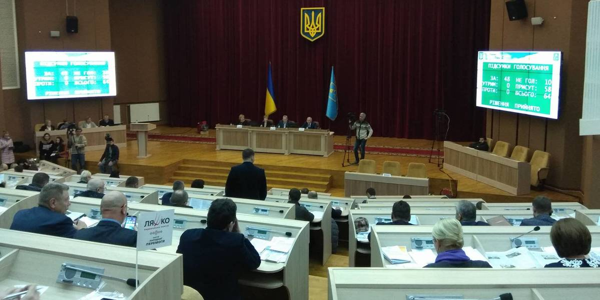 Sumy Oblast Council approved programme for support of AH cooperation