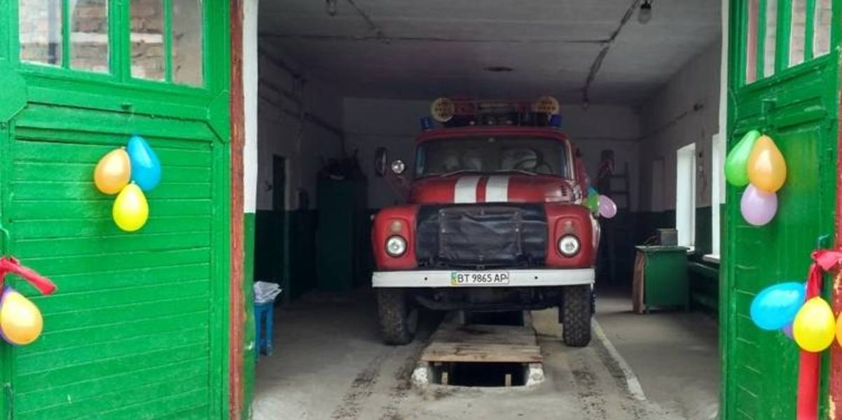 Local fire brigade was opened in Myrnenska AH