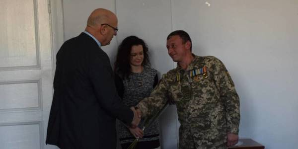 Five families of ATO soldiers in Bashtanska AH received keys to their new homes