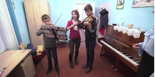 "Establishment of music school in Hnizdychivska AH featured in ""Side by Side"" programme"