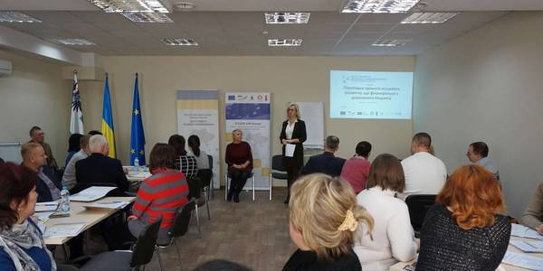 Representatives of hromadas of Chernihiv Oblast have learned to write local development projects