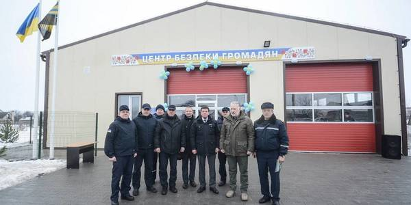 Hennadii Zubko opened two Safety Centres in AH of Donetsk Oblast