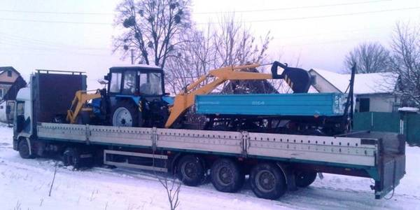 Kozynska AH got special machinery to be used in winter and summer seasons