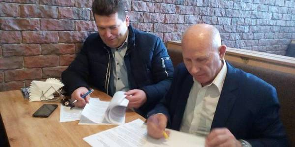 First cooperation agreement signed between hromadas of Kherson Oblast