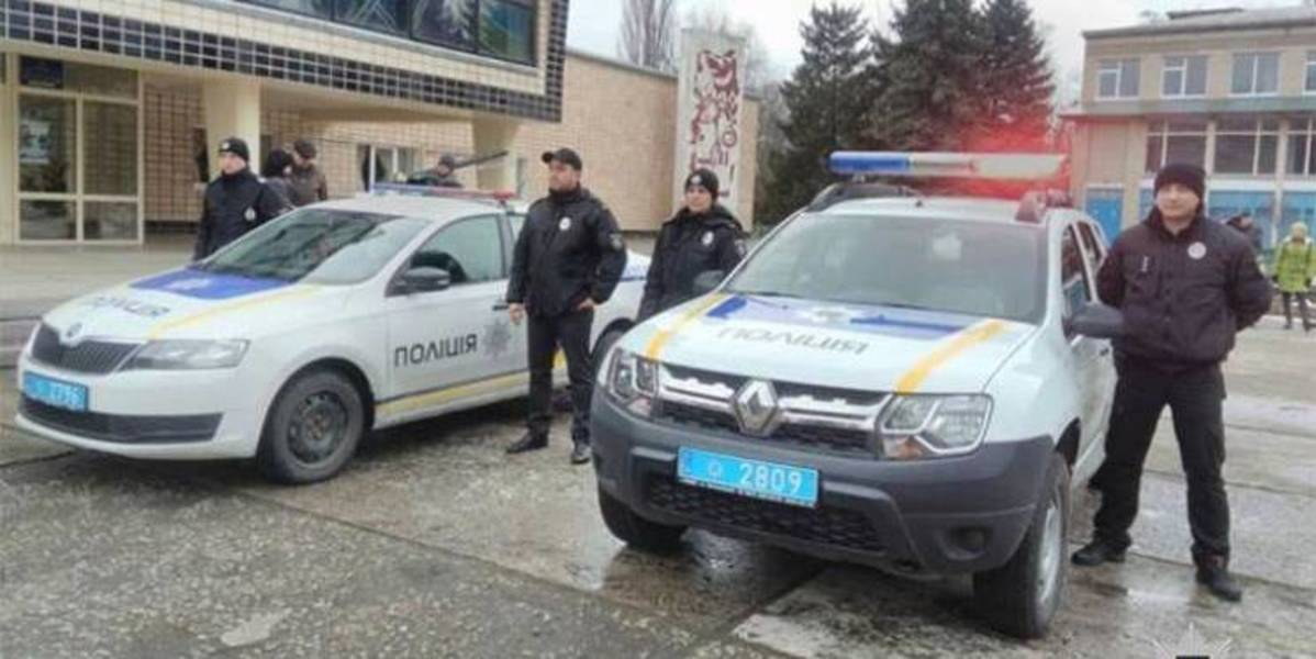 Amalgamated hromada in Dnipropetrovsk Oblast purchased off-roader to the police