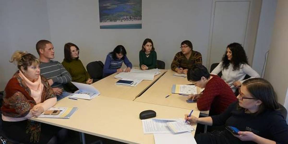 AH communicators' team of Odesa Oblast learnt to present successes of hromadas