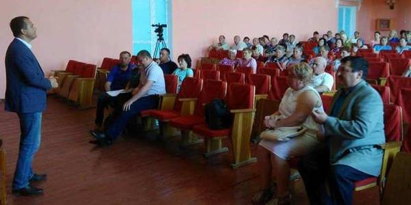 Residents of Verkhnya Lanna have supported idea of ​​voluntary accession to Lannivska AH