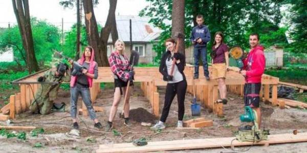"Smyzka AH implemented ""Building Ukraine Together"" youth project"