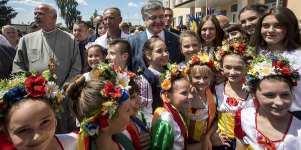 President attended graduation ceremony at Yamnytsky Lyceum