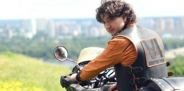 "Hryhorii Vahapov, frontman of ""Vpershe Chuyu"" music band, organises cycling tour in support of decentralisation"