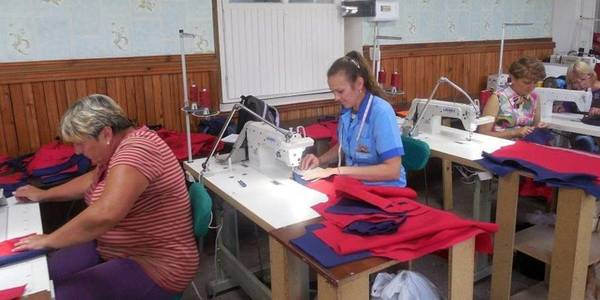 Sewing unit opened in Malopereshchepynska AH