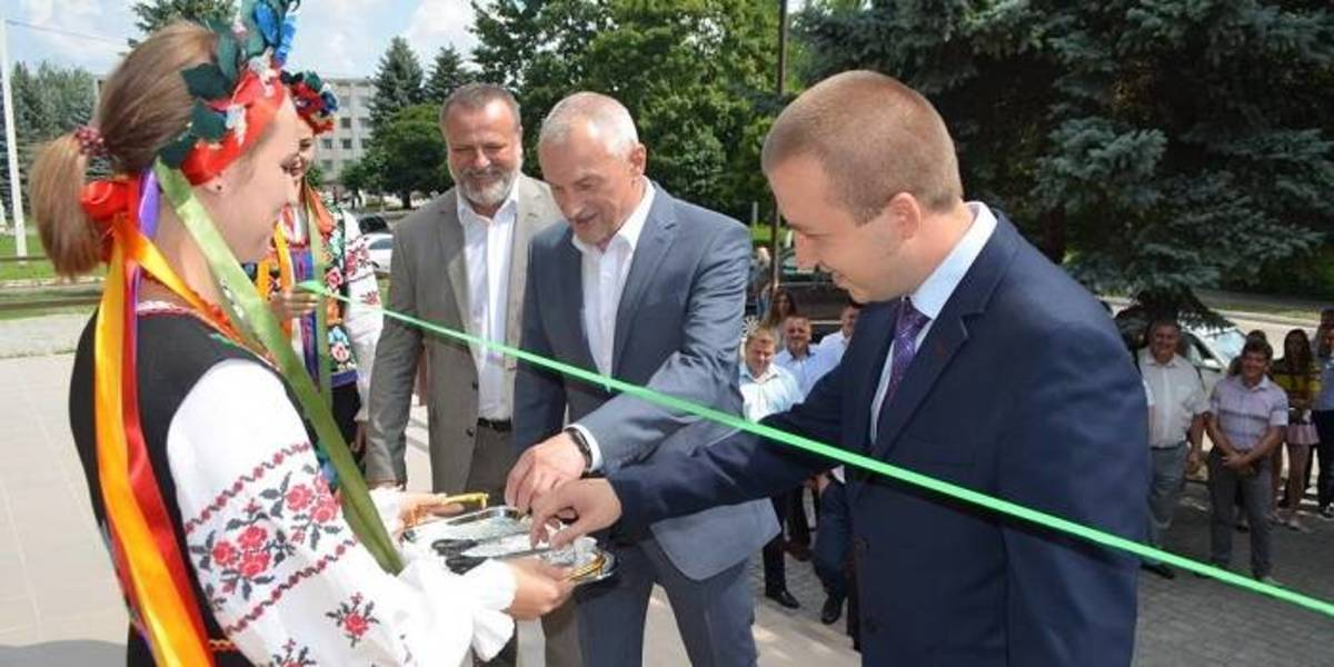 Refurbished administrative service centre has been opened in Lyubomlska AH