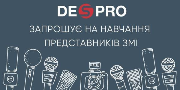 DESPRO invites media representatives to join training sessions