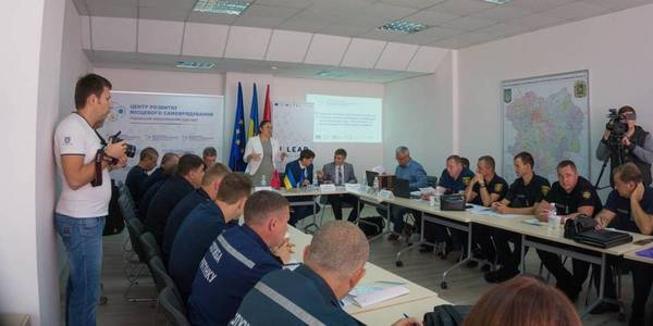 AH representatives learnt to create civil protection system in Kharkiv