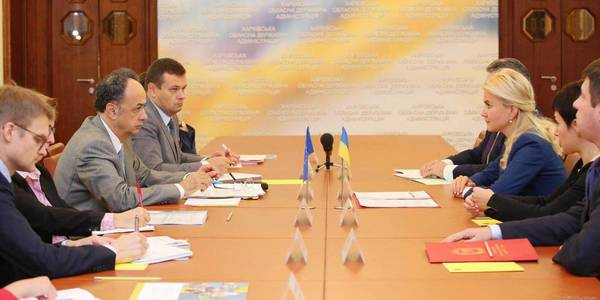 Hugues Mingarelli, Head of the EU Delegation to Ukraine, visits Kharkiv