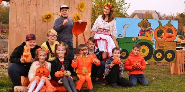 Pumpkin Fest held by hromadas of Kremenchuk Rayon