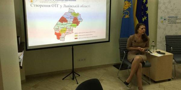Lviv Oblast's hromadas in 2018 are large and capable, - Halyna Hrechyn