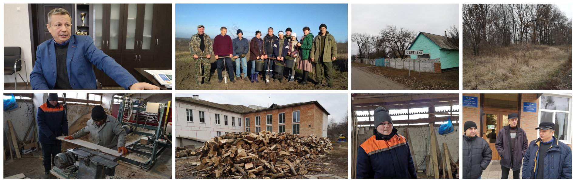 Story on how hromada conquered the forest. Reportage from Serhiyivska AH