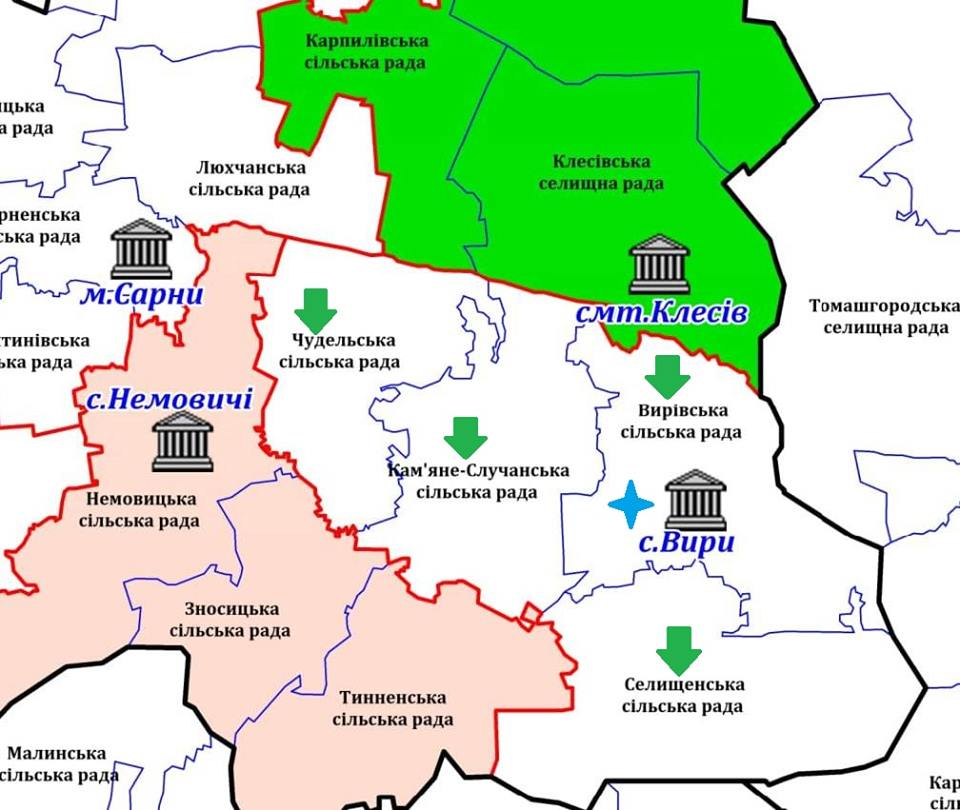 Rivne Oblast State Administration submitted positive conclusions to eight village councils