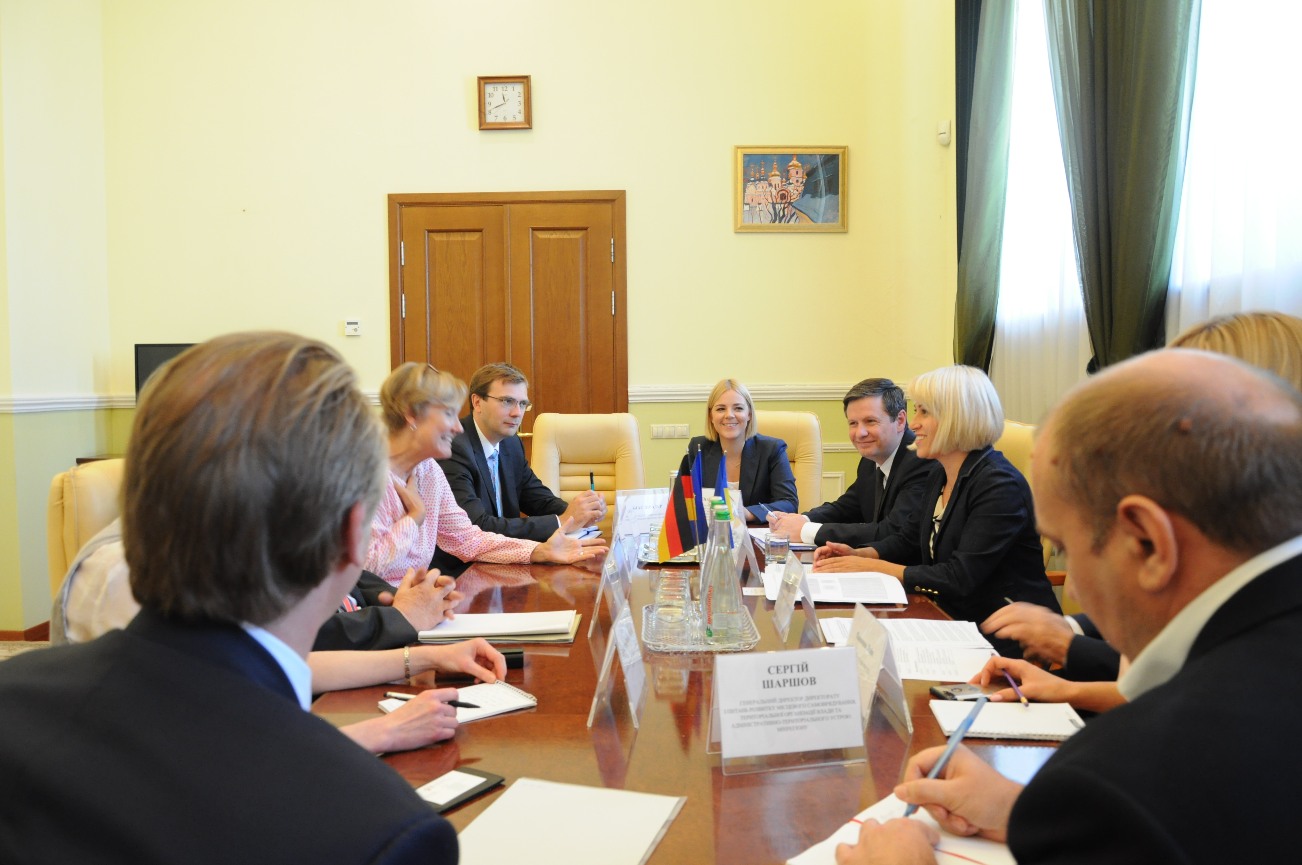 Ukraine and Germany to continue their cooperation in implementing decentralisation