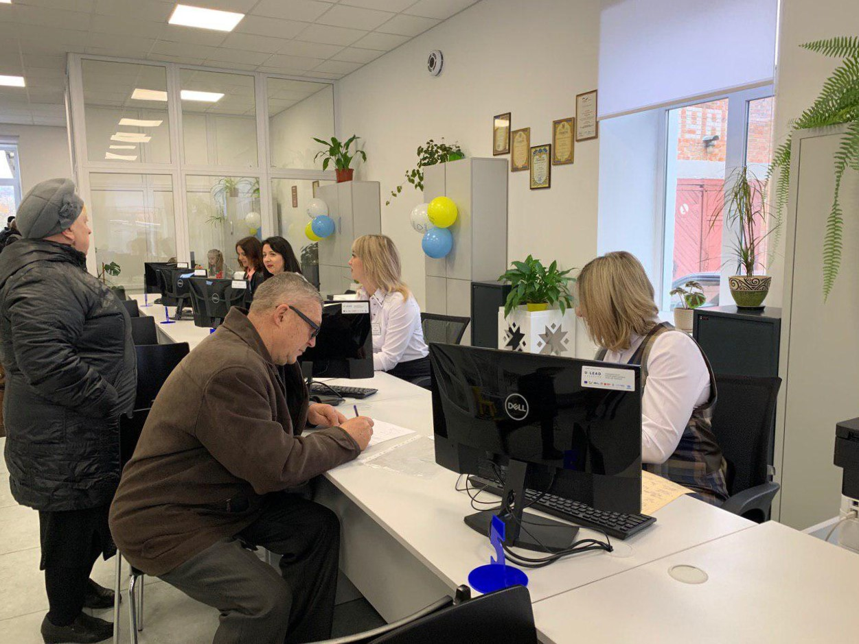 60 000 Kozyatyn city and rayon residents got access to 330 services in joint ASC