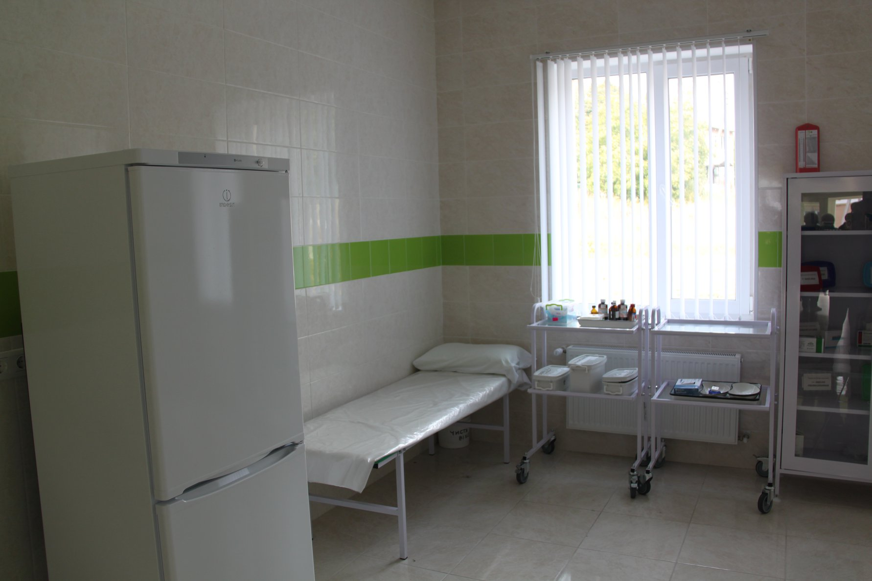 New rural outpatient clinics being opened in Ukraine