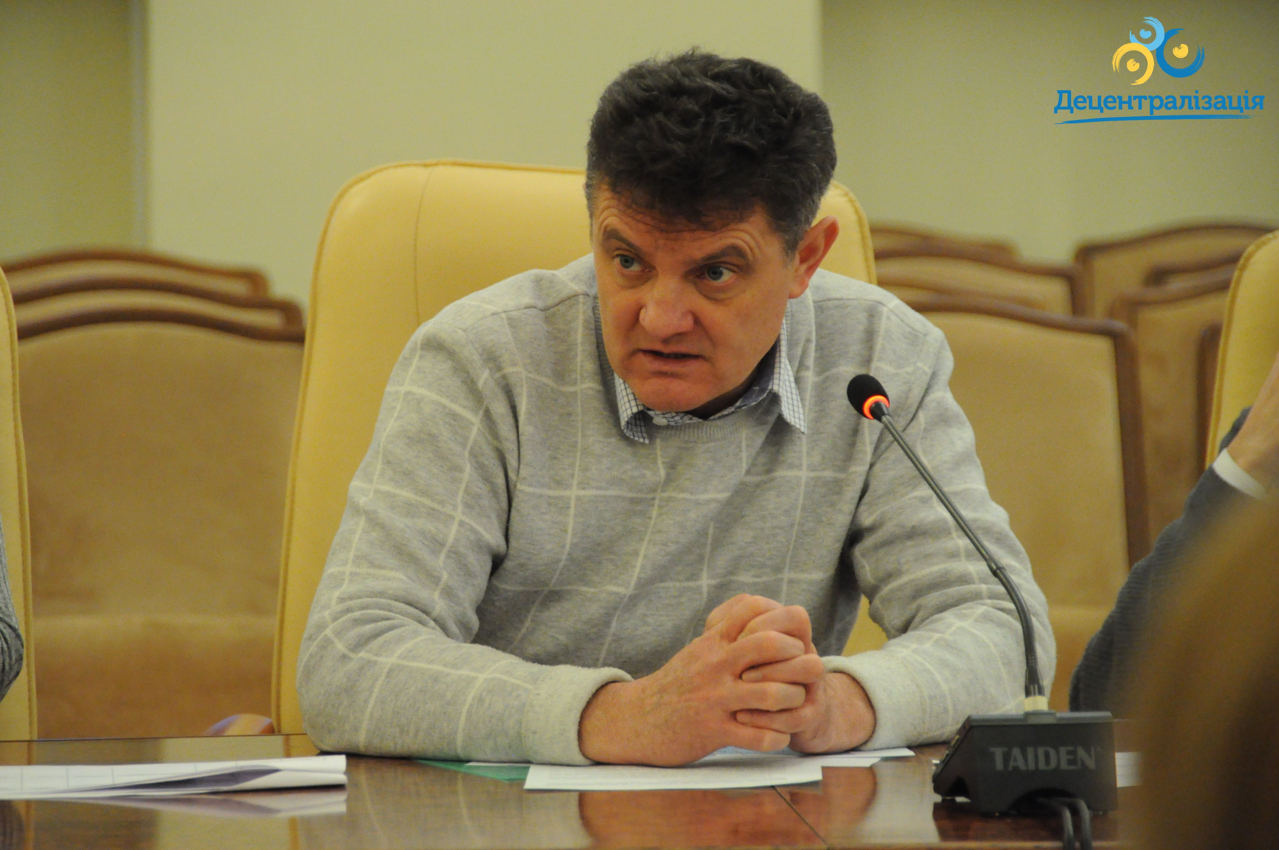 This year, we are to complete decentralisation process, according to Vyacheslav Nehoda.
