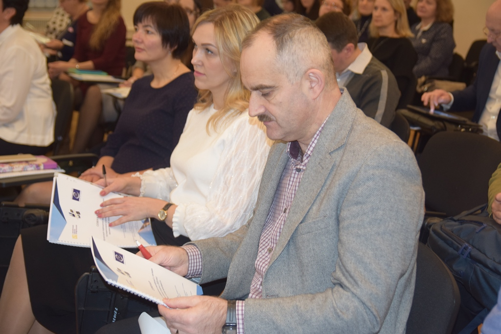 Council of Europe promotes implementation of the modern standards in Ukrainian national training system for public authorities