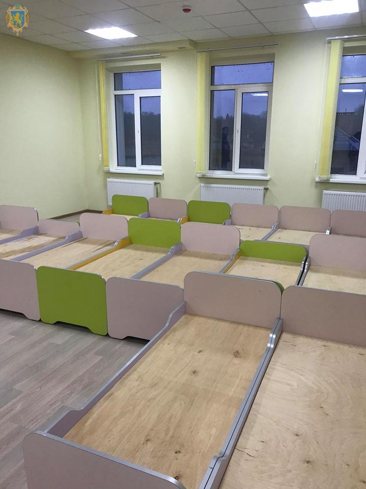 A new kindergarten for 150 kids will be opened in the Velykoliybinska AH