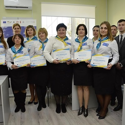 Administrative Services Centre Opened in Kalyta with support of U-LEAD with Europe
