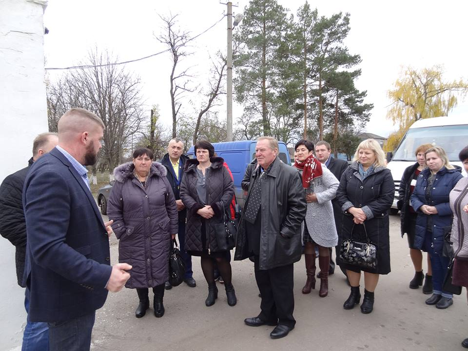Tsarychanska AH was welcoming guests from Chernihiv Oblast