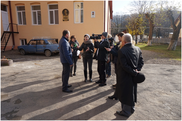 Press tour continues: Chernivtsi journalists visited Vyzhnytska amalgamated hromada
