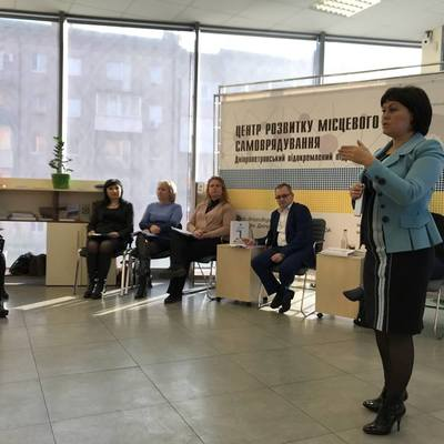 Newly established hromadas of Dnipropetrovsk Oblast learnt to make estimates