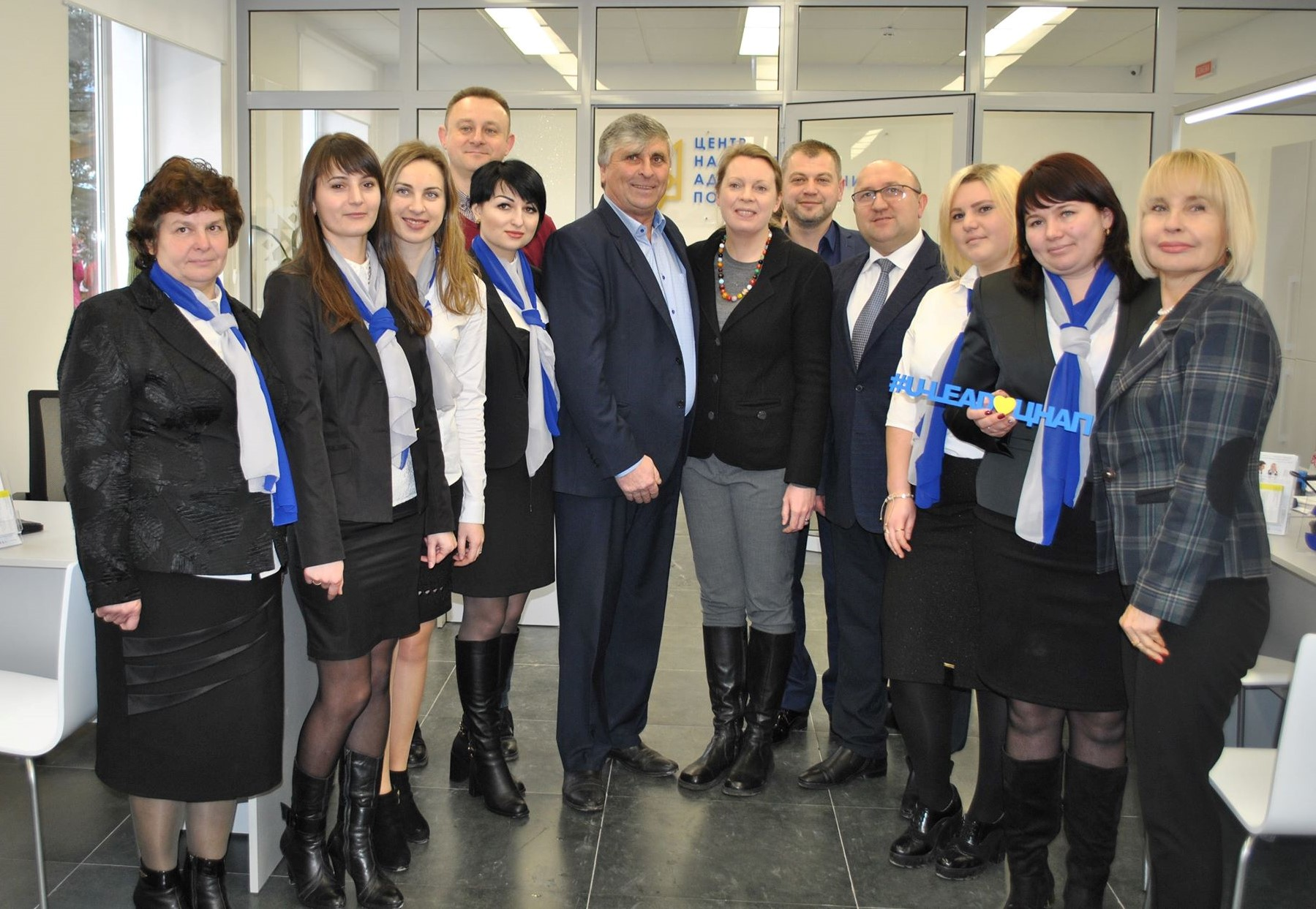 Administrative Service Centre opened in Starobohorodchanska amalgamated hromada with support of U-LEAD with Europe Programme